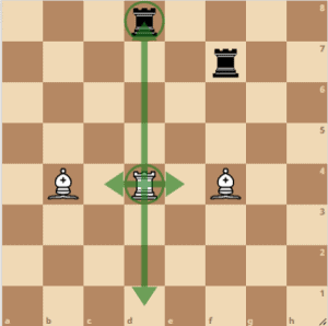 how the rook moves in chess