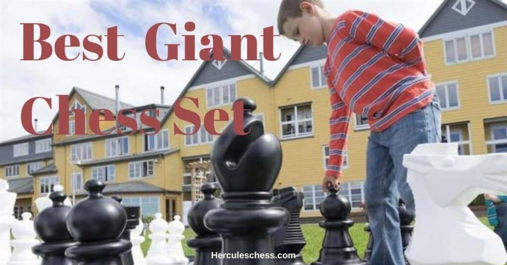 best giant chess set