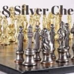 Top 5 Best Gold and Silver Metal Chess Sets in 2021