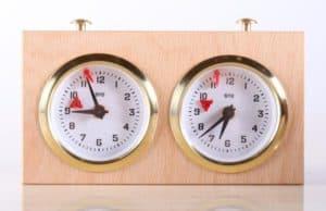 Wooden BHB Chess Clock