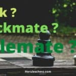 Difference Between Check Checkmate & Stalemate