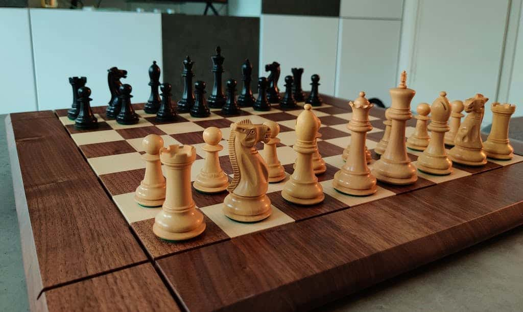 best size chess board