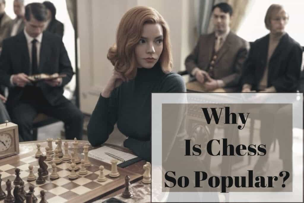 why is chess so popular