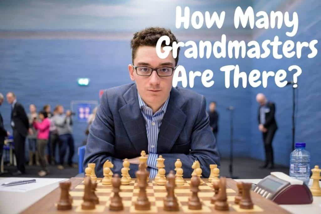 how many chess grandmasters are there