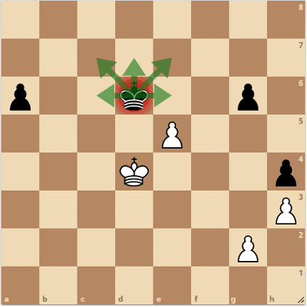 can a pawn kill a king