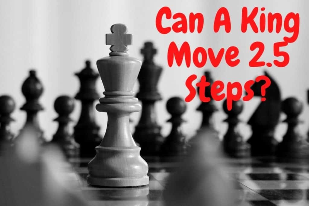 can a king move 2.5 steps