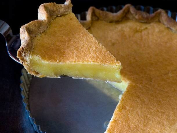 Chess Pie with Cornmeal